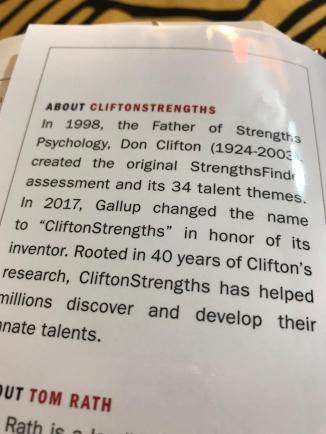 CliftonStrengths 3